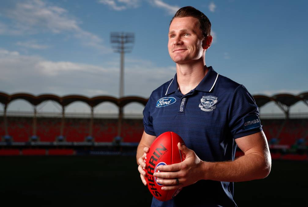 VOCAL: AFLPA president Patrick Dangerfield has been vocal on rules surrounding the number of interchange rotations per game. Photo: Michael Willson/AFL Photos via Getty Images